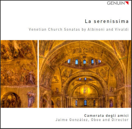 Meine neue CD: La serenissima Venetian Church Sonatas by Albinoni and Vivaldi